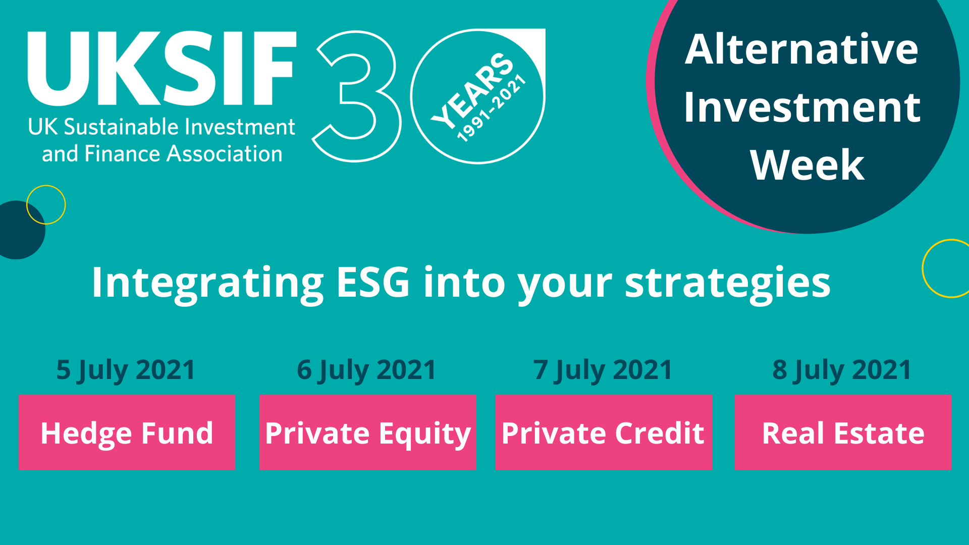 Alternative Investment Event Series - Preview Image