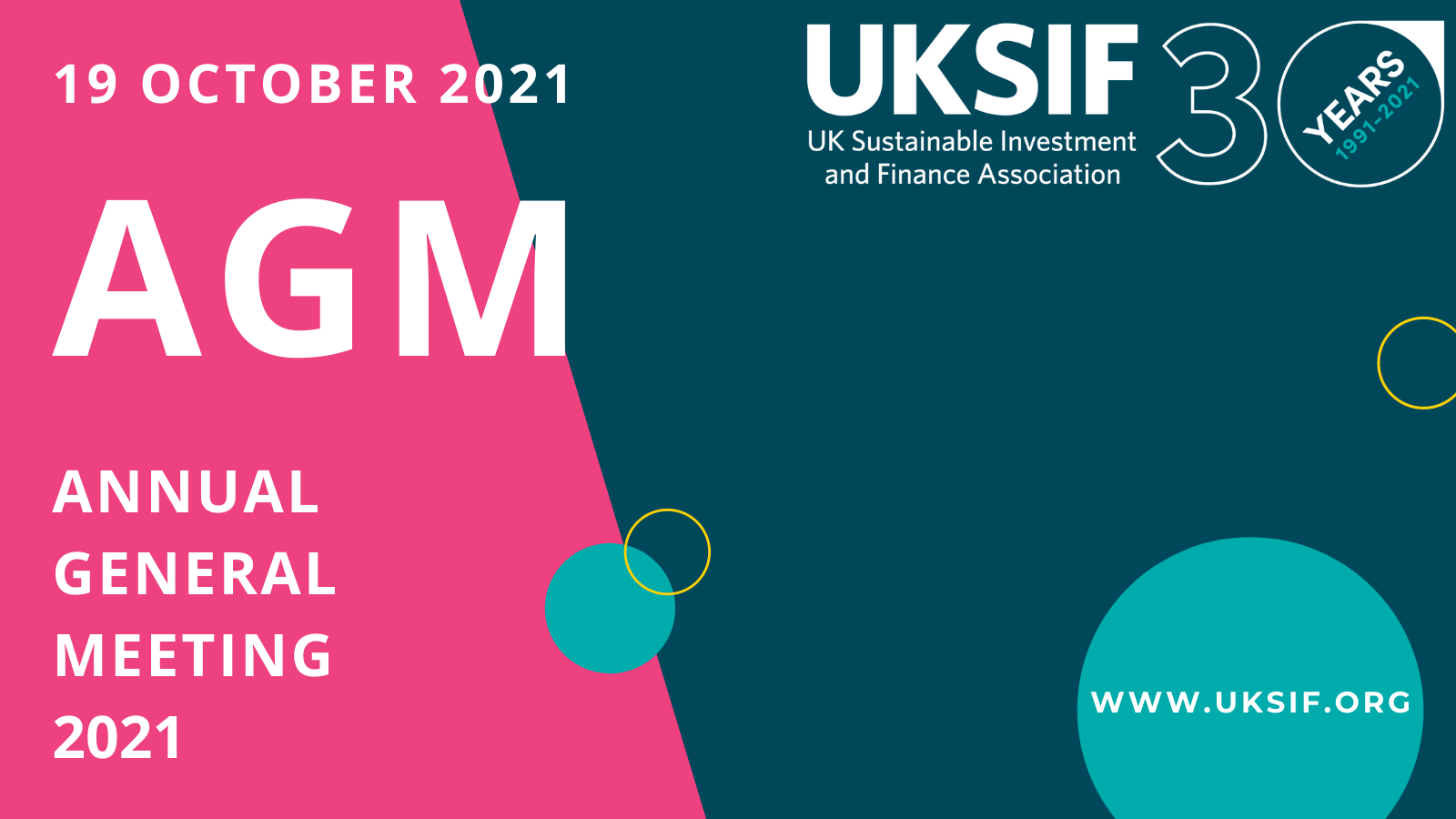 UKSIF AGM 2021 - Preview Image